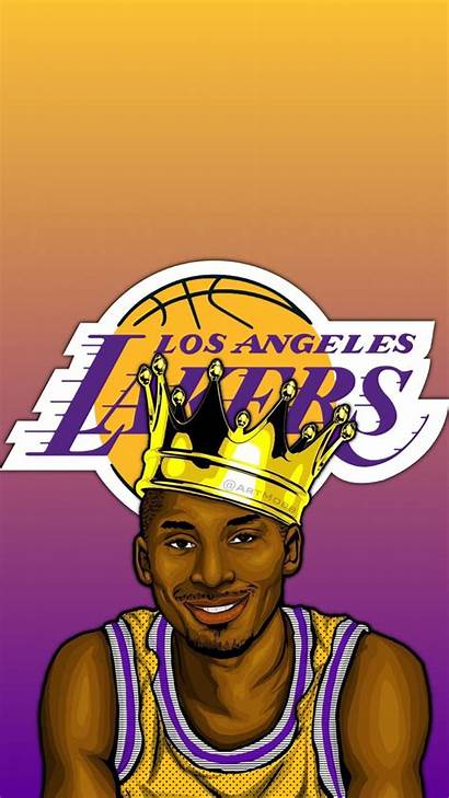 Kobe Lakers Cartoon Wallpapers Cool Lebron Backgrounds