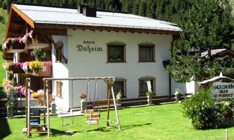 Haus Daheim  Familie Mark  Pitztal Tirol