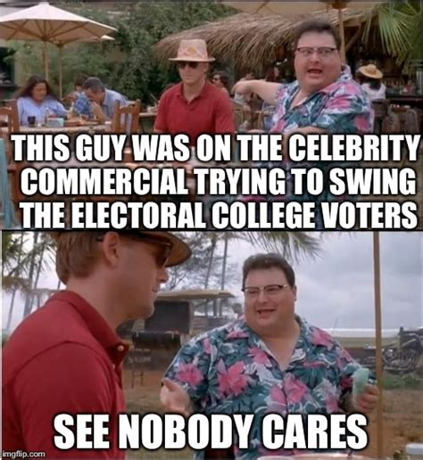 College Guy Meme - see nobody cares memes imgflip