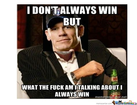 Funny John Cena Memes - john cena by johnmilligan meme center