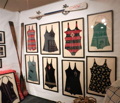 home interior decorator d i y tuesday framed vintage swimwear wall