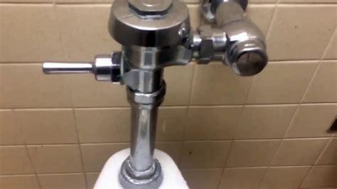 leaky sloan royal flushometer youtube