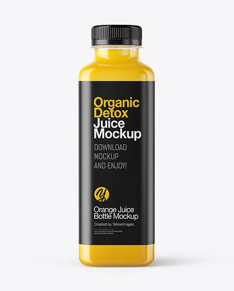 This package includes easy to work with files that allow you to customize juice bottle packaging mockups to suit your brand. Square Orange Juice Bottle Mockup in Bottle Mockups on ...