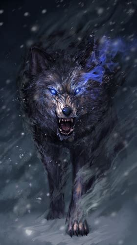 Anime Wolf Wallpaper Android by Wolf Spirit Pour Android 224 T 233 L 233 Charger Gratuitement Fond