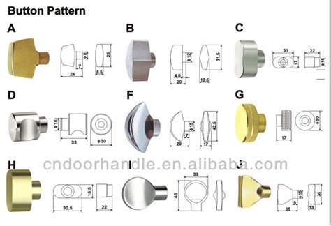 European Profile Door Lock Cylinder Types With Normal And