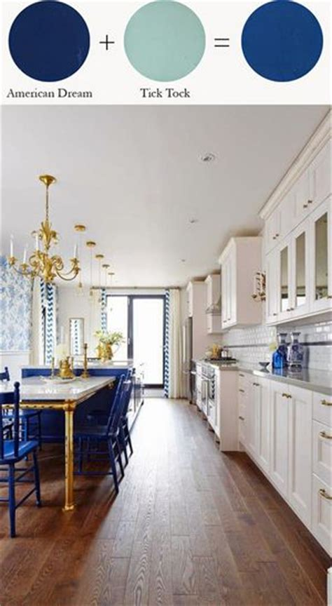 kitchen cabinets blue howard at home one step paint american tick 2894