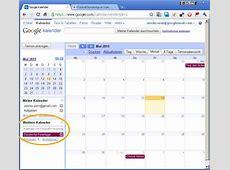 Bundesliga Spielpläne für Google Kalender