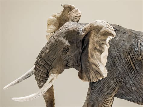 Elephant Sculpture for Sale - Nick Mackman Animal Sculpture