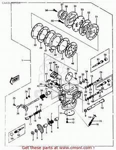 Kawasaki 1987 A6  Js550 Carburetor