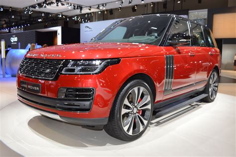 2018 Range Rover Svautobiography Dynamic Showcased At The