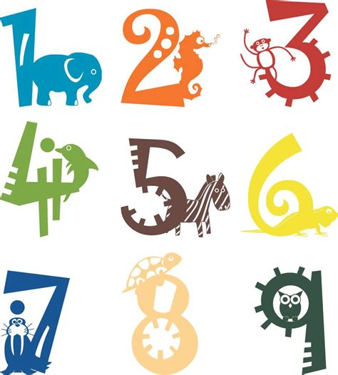 Check out our 3d wall decor selection for the very best in unique or custom, handmade pieces from our декор на стены shops. 1 to 9 Animal Numbers Wall Vinyl Decals Art Graphics Stickers   Vinyl wall decals, Vinyl decals, Art