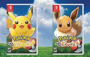 Let39s Go Pikachu Eevee Pokemon Quest Arrive On Nintendo