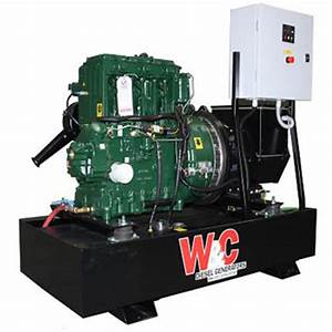 22 5kva  3 Phase  Lister Petter Diesel Standby Generator
