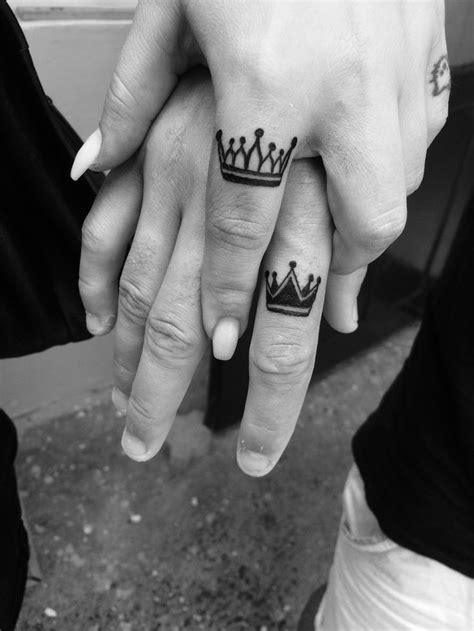 Crown finger tattoo … | Finger tattoos, Crown finger
