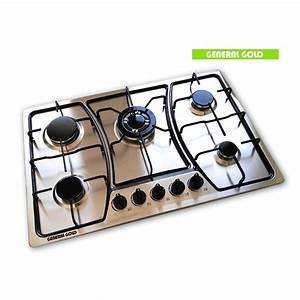 Plaque De Cuisson 5 Feux : plaque de cuisson 5 feux general gold en inox ~ Dailycaller-alerts.com Idées de Décoration