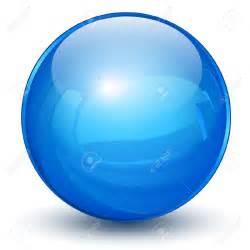 Clip Art 3D Sphere Blue