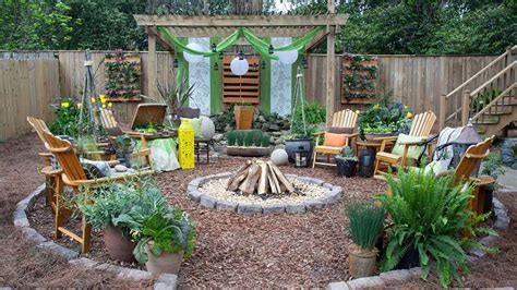 backyard makeover mini home tricks