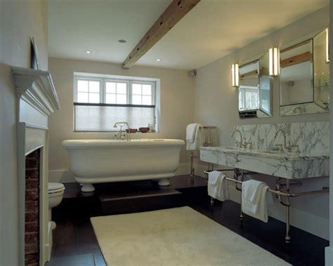 bathtub platform transitional bathroom carden