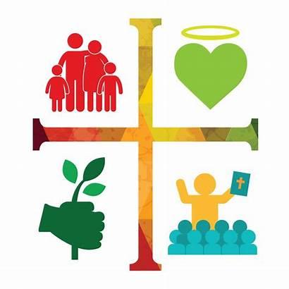 Stewardship Catholic Workshop Clipart Foundation Icon Paso
