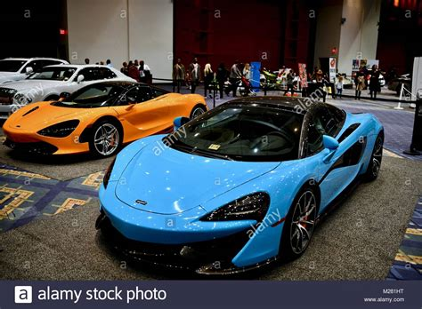 Exotic And Luxury Sports Cars At The 2018 Washington Auto