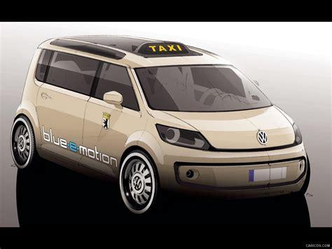 Volkswagen Berlin Taxi Concept Design Sketch Wallpaper