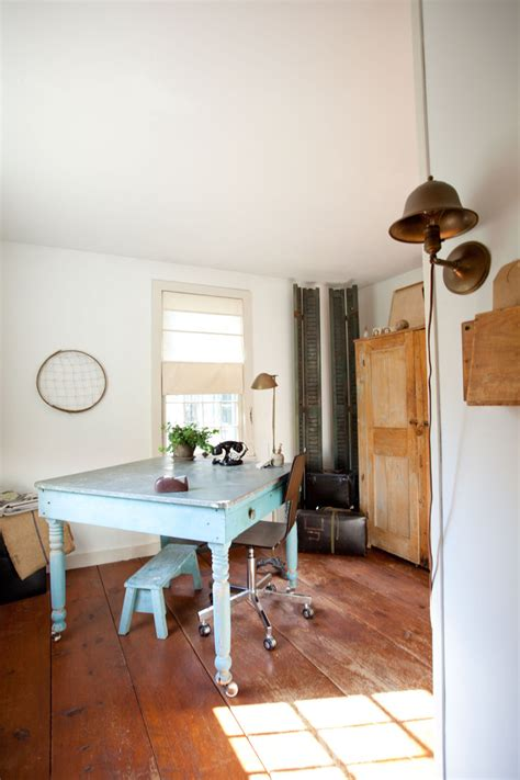 Rug Pads For Wood Floors by Farm Table Desk Home Office Farmhouse With Blue Brass Desk