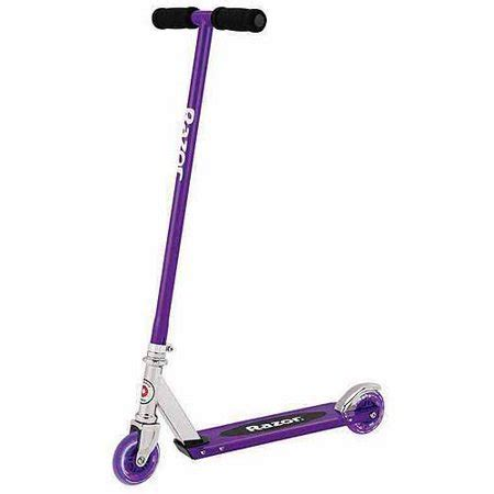Razor Scooter With Light Up Wheels by Razor Steel Non Folding Lighted Wheel Scooter Walmart