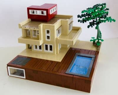 Moderne Lego Häuser by The Arquitectura Y Dise 241 O