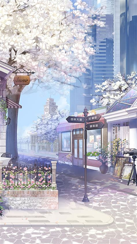 scenery wallpaper anime backgrounds wallpapers