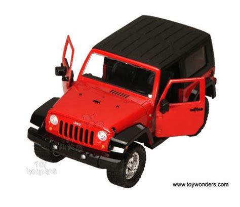 toy jeep car 2007 jeep wrangler by jada toys dub city 1 24 scale