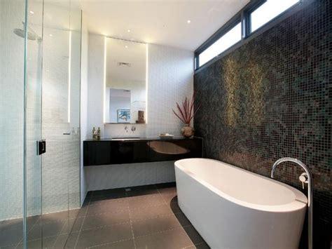 bathroom tile feature ideas glass in a bathroom design from an australian home