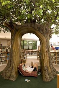 Oak, Tree, Collingwood, Public, Library, Children, U2019s, Reading