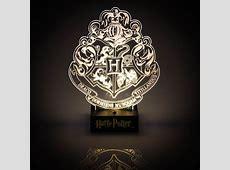 Harry Potter Hogwarts Crest Light Lumos! Menkind