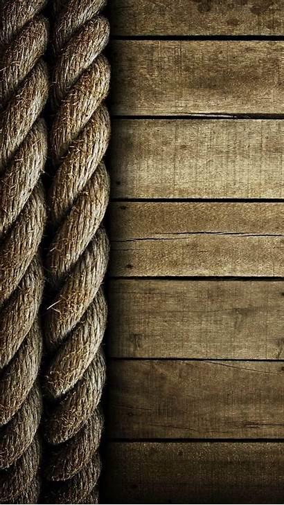 Wood Wooden Portrait Ropes Planks Surface Minimalism