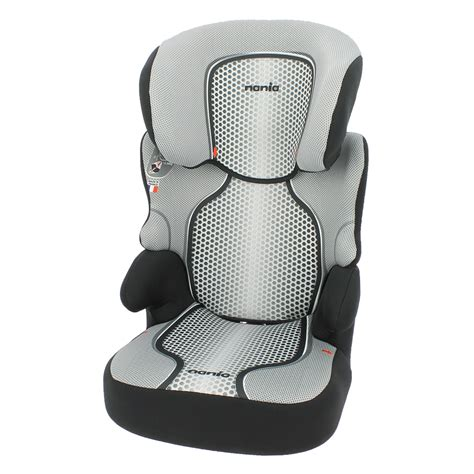 siege auto nania 1 2 3 siège auto befix sp gris groupe 2 3 de nania sur allobébé