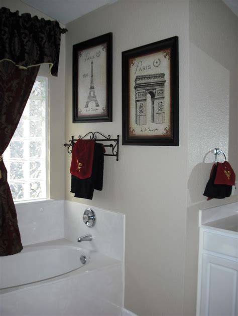 paris theme bathroom ideas  pinterest paris