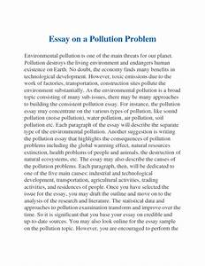 Essay About Environmental Pollution Taxation Dissertation Topics  Essay About Environmental Pollution In Kannada Language Learn English Essay also How To Write A College Essay Paper Abraham Lincoln Essay Paper