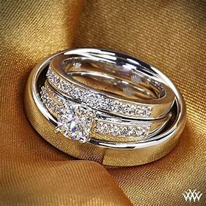 Wedding diamond engagement rings sets and bridal sets for Wedding bands and engagement ring sets