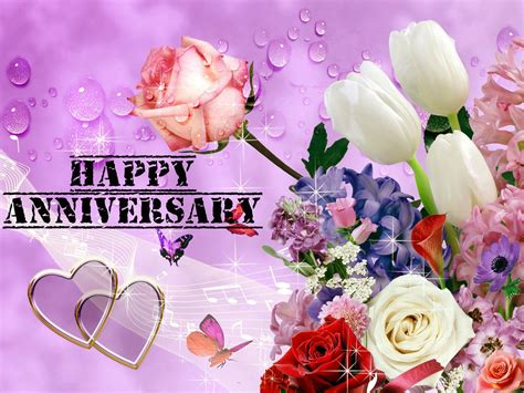 Awesome Happy Anniversary by Awesome Anniversary Pink Flowers Images