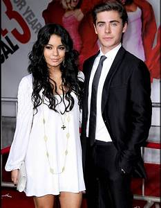 The High School Musical Duo Vanessa Hudgens and Zac Efron ...