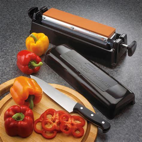 norton im knife sharpener professional oil tri stone system cutlery