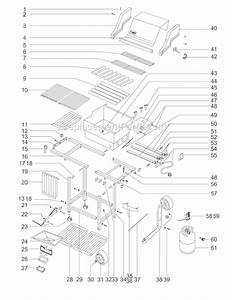 Weber 211701 Parts List And Diagram   Ereplacementparts Com