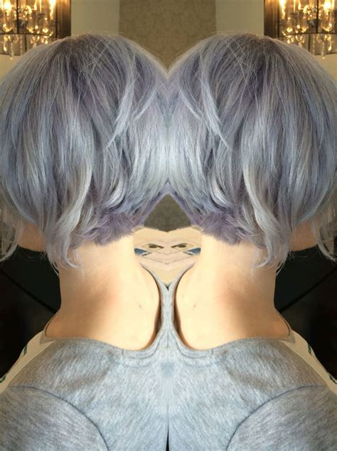 From Platinum To Silver Lavender Greyhair Silverhair