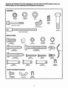 Craftsman 1  2 Hp Garage Door Opener 139 53978srt User