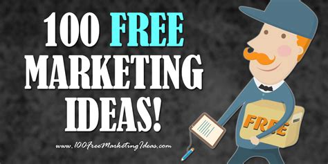 100 Free Marketing Ideas  Marketing Artfully