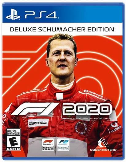 F1 Edition Deluxe Ps4 Schumacher Codes Redeem