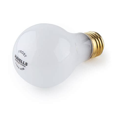 havells 60008 40 watt frosted light bulb incandescent bulb