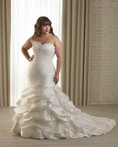 plus size mermaid wedding dresses with sleeves rtlo With plus size mermaid wedding dresses