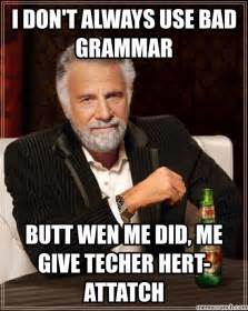 Funny Memes In English - english teacher meme