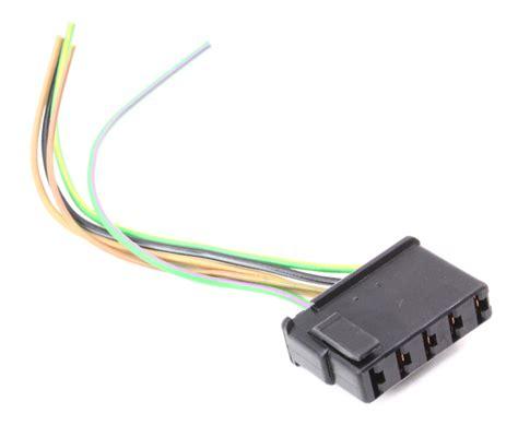 Windshield Wiper Motor Wiring Plug Pigtail 98-00 Audi A6